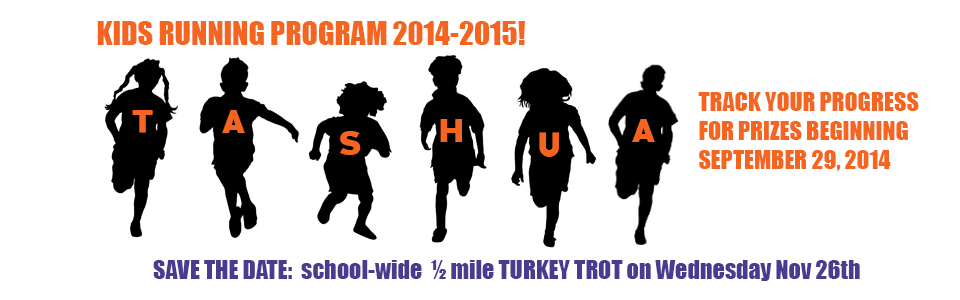 Kids Running Program 2014-2015
