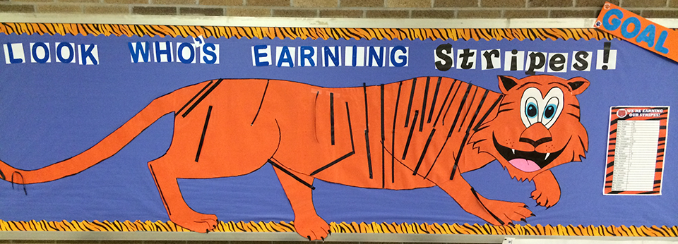 PBIS Tiger Stripes