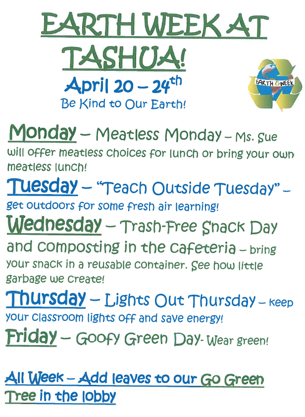 Earth Week 2015 at Tashua