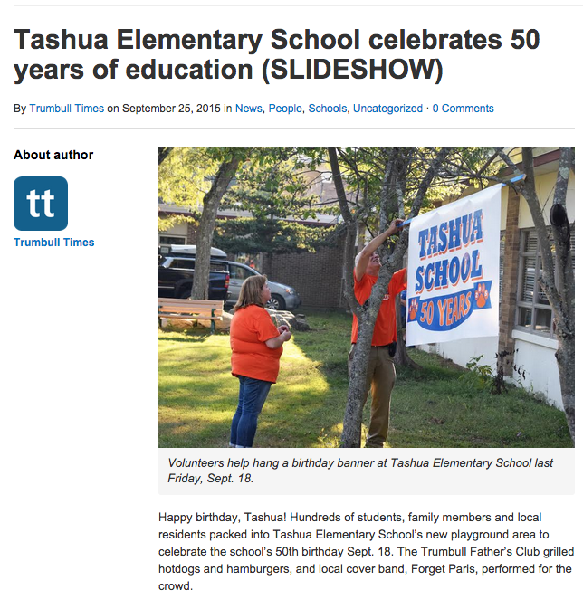 Tashua Celebrates 50 Years!