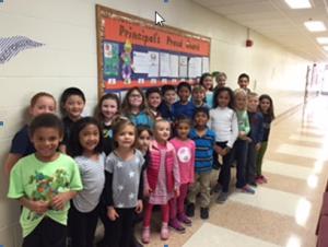 Principal's Proud Board – November 2015