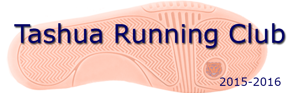 Tashua Running Club 2015-2016