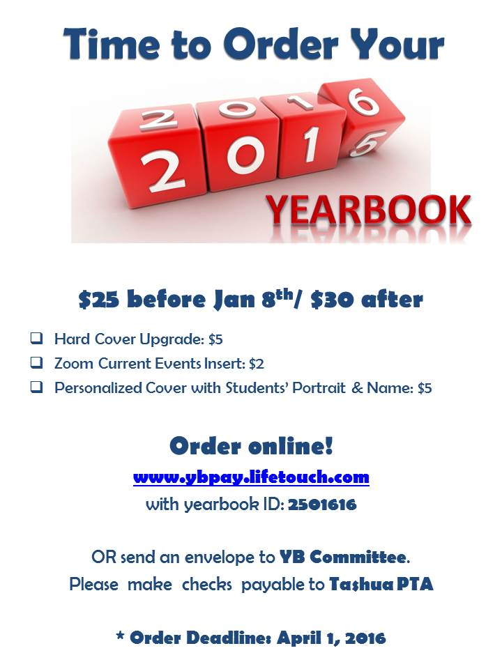 Yearbook forms