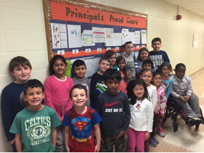 Principal's Proud Board -December 2015
