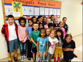 Principal's Proud Board – October 2015
