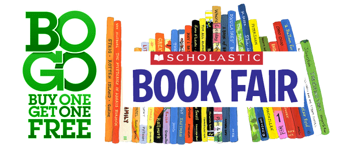 April 5, 6 & 7 – Book Fair