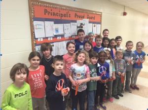 Principal's Proud Board – April 2016