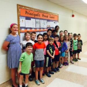 Principal's Proud Board – June2016