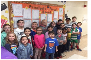 Principal's Proud Board ~ November 2017