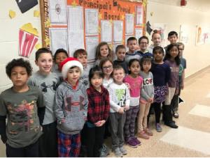 Principal's Proud Board ~ December 2017