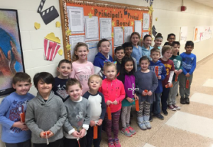 Principal's Proud Board ~ January 2018