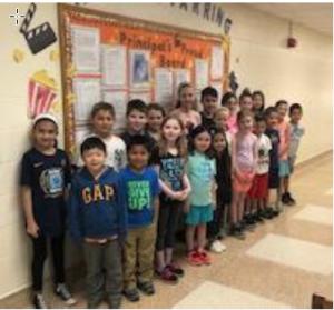 Principal's Proud Board ~ May 2018