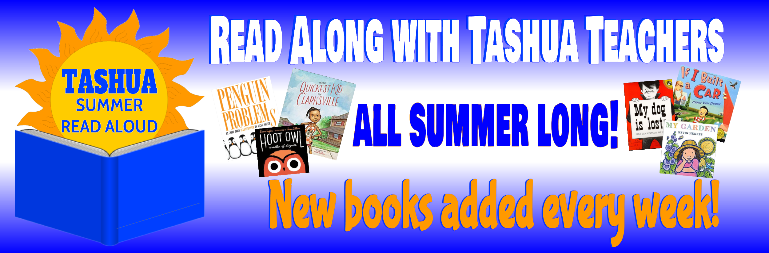 Summer Read Aloud 2018