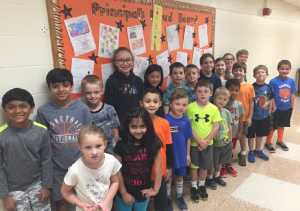 Principal's Proud Board ~ October 2018