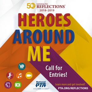 Reflections 2018 – Heroes Around Me
