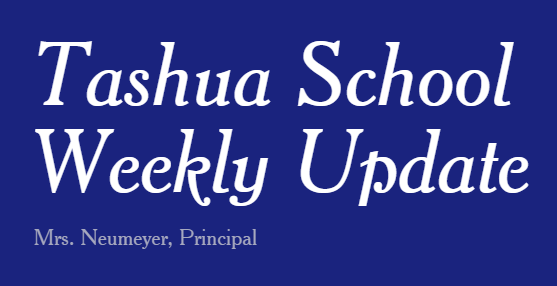 Weekly Update from Mrs. Neumeyer